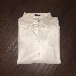Pronto Uomo White Button Down Shirt